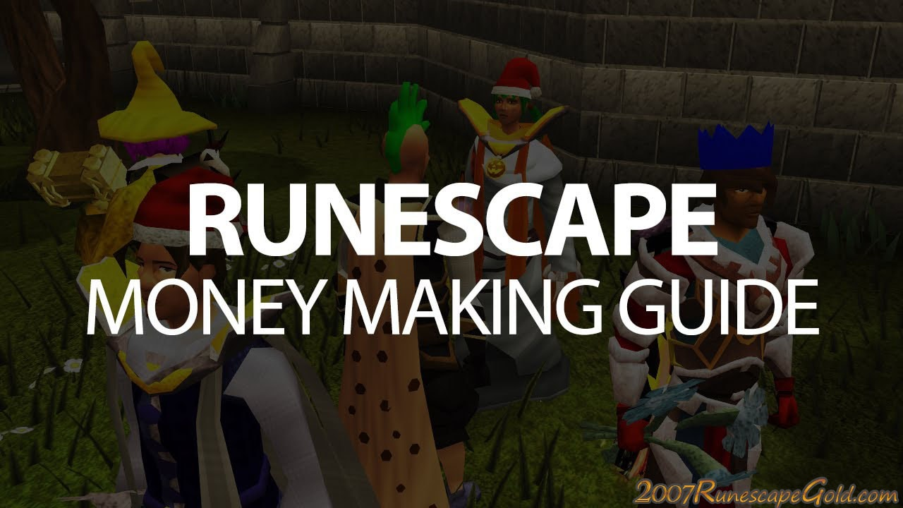 How to Level Up While Making Money in RuneScape