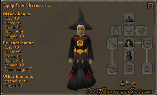 Thoughts On The Dagon'Hai Robes Set In Runescape