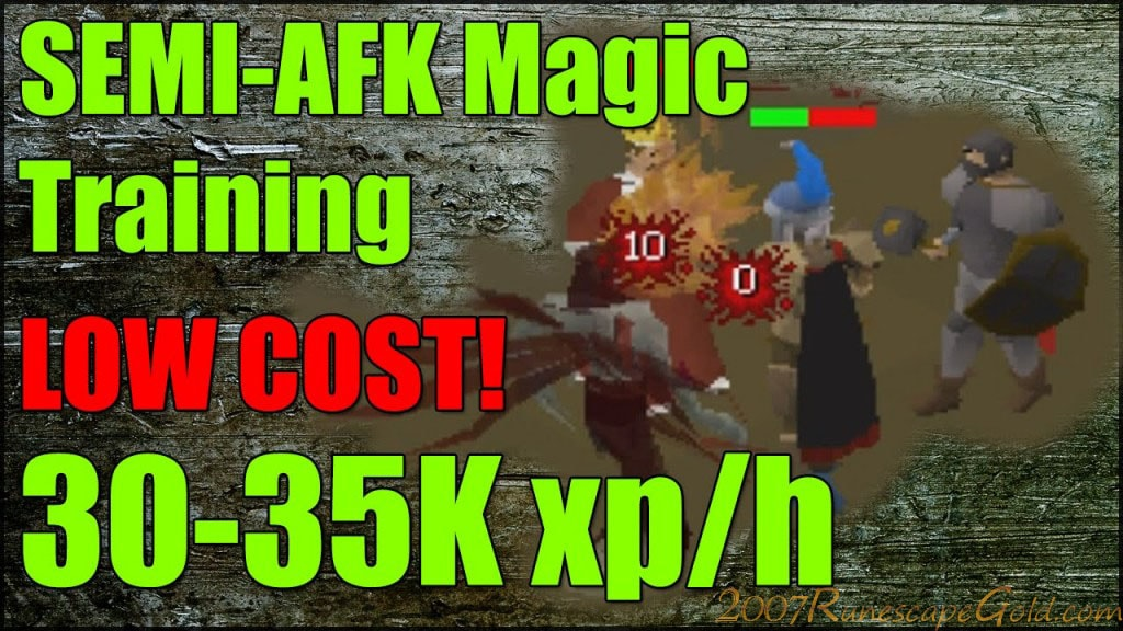 AFK Mage Training