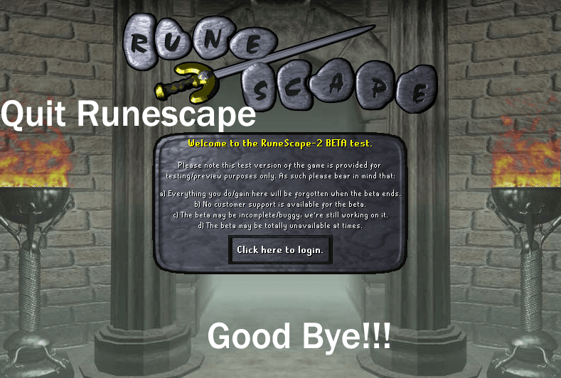 3 Reasons why people quit Runescape
