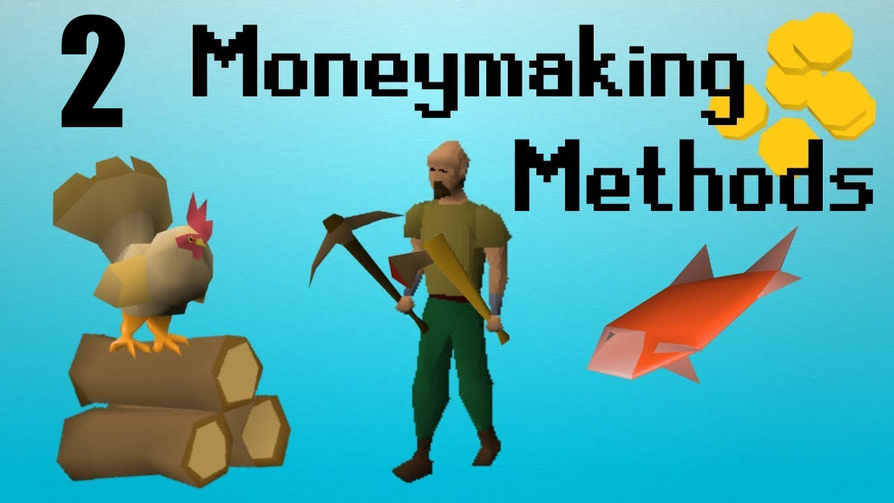How To Make Money Right Away In A F2P Old School Runescape Account