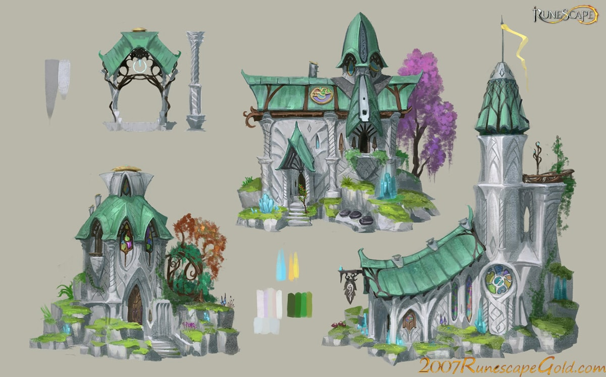 runescape Elf City