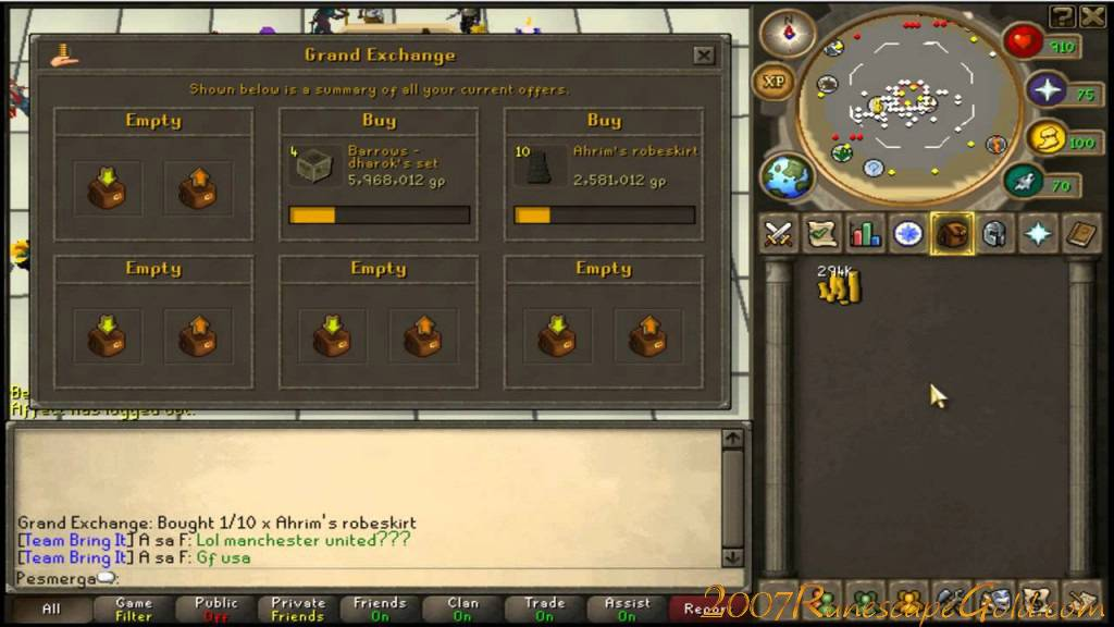 Good place to obtain rs gold with 10% bonus for Runescape