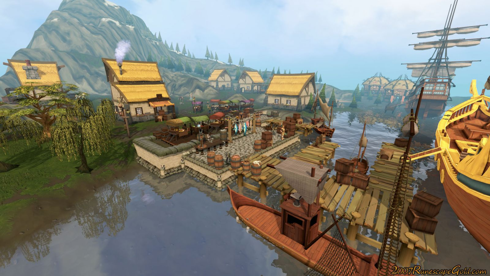 So that is our favorites. We would love to hear from you guys on what your favorite town, city or place in Runescape is.