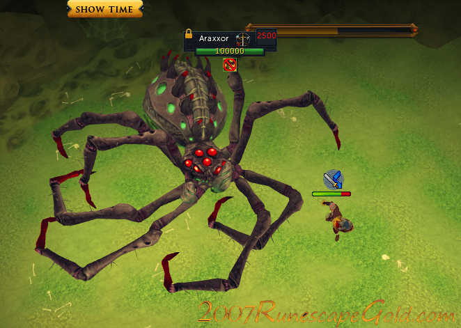 fighting Araxxor