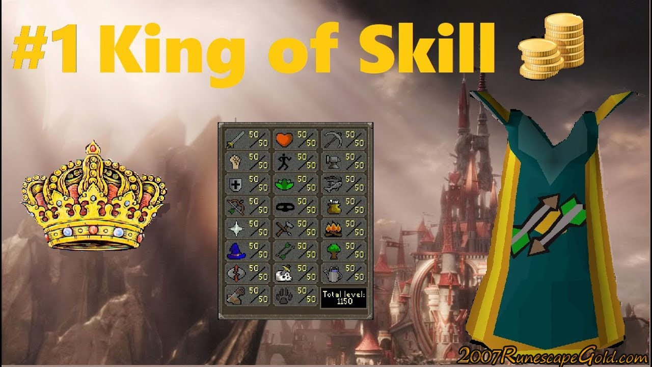 Thoughts On The Runescape King Of Skill Event