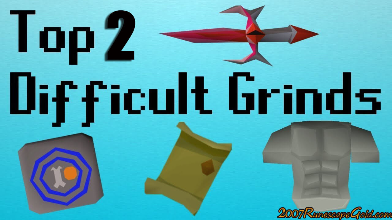 Top 2 Difficult Grinds in Old School Runescape