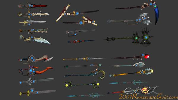 Runescape Weapons