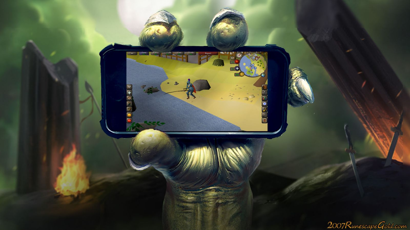 Runescape Coming To Mobile!