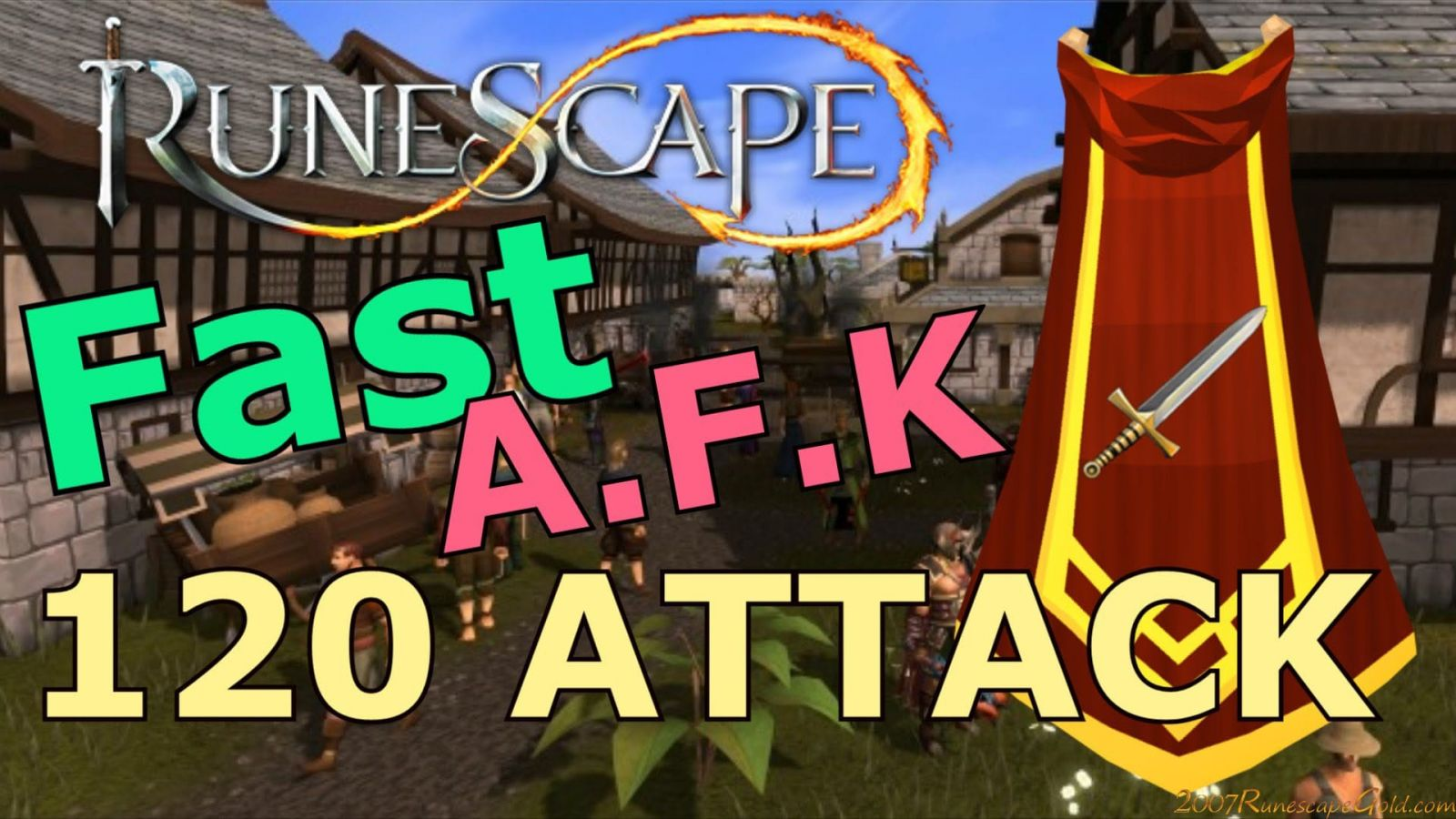 How to Level up Attack fast in Old School RuneScape