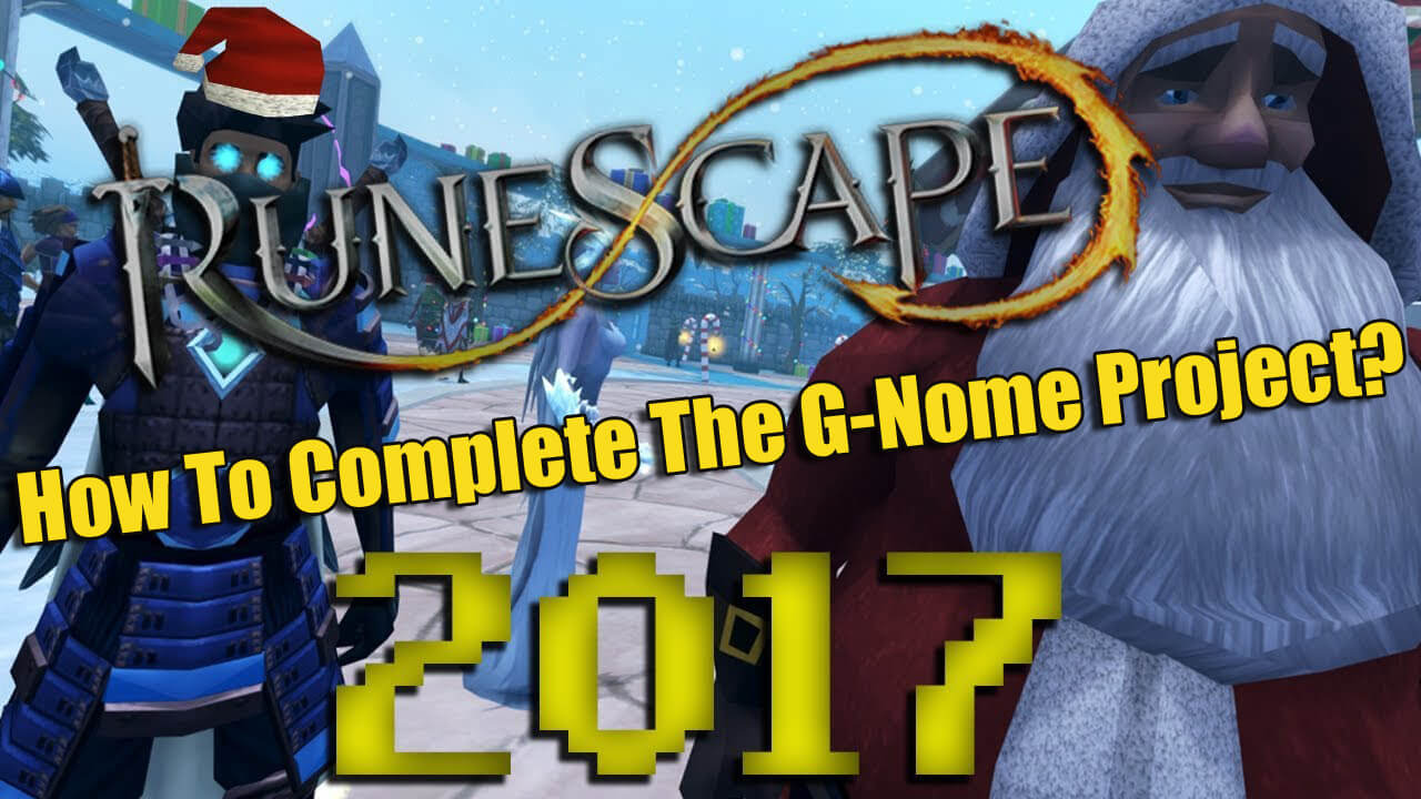 How To Complete The Runescape G-Nome Project Christmas Event?