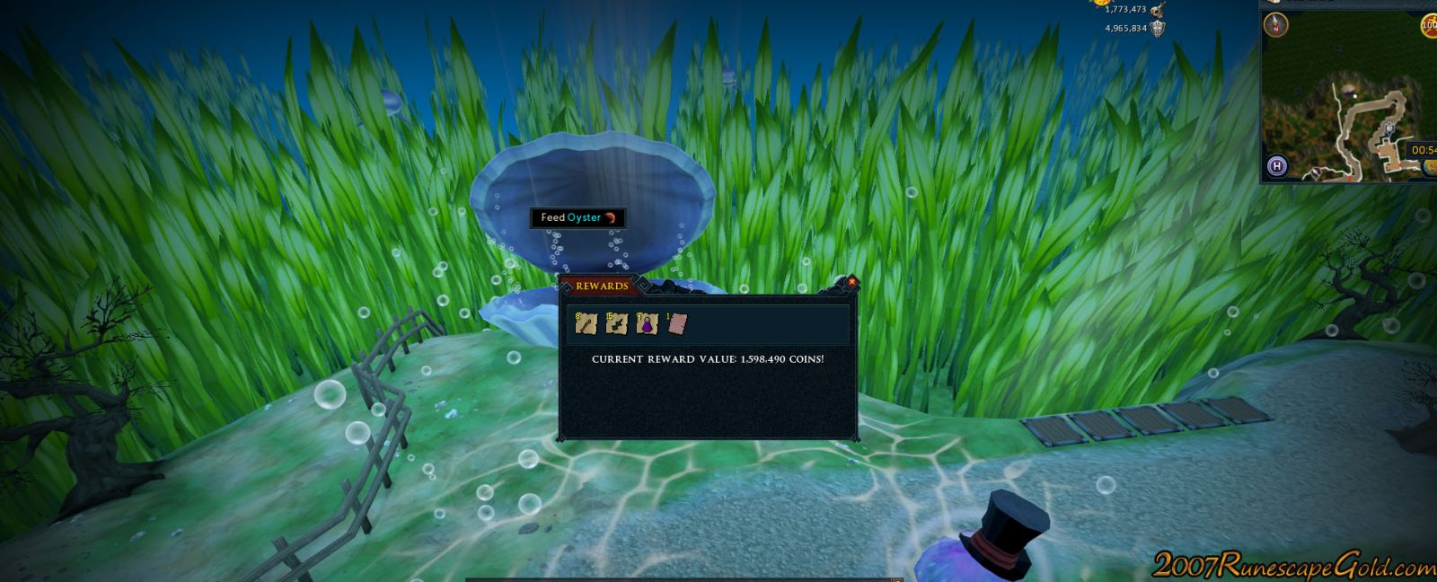 Thoughts On The Giant Oyster In Runescape