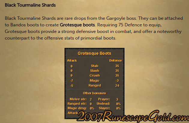 Grotesque Guardians In osrs