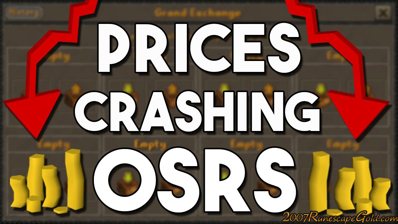 Why are Prices Crashing in Oldschool Runescape