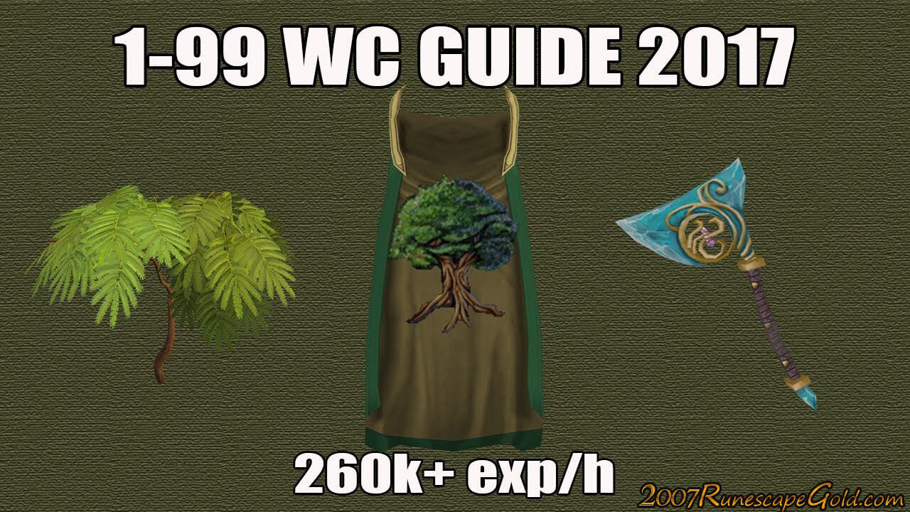 Runescape 3 Woodcutting Guide 2017