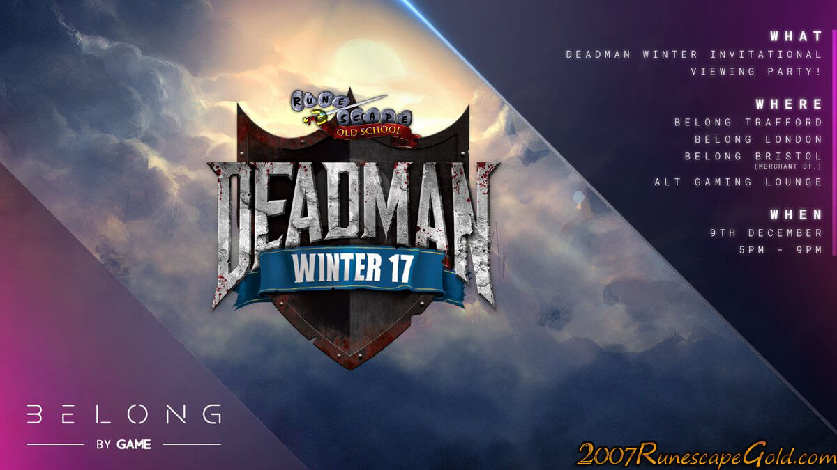 Why You Need To Check Out The OSRS Deadman Winter Finals This Weekend