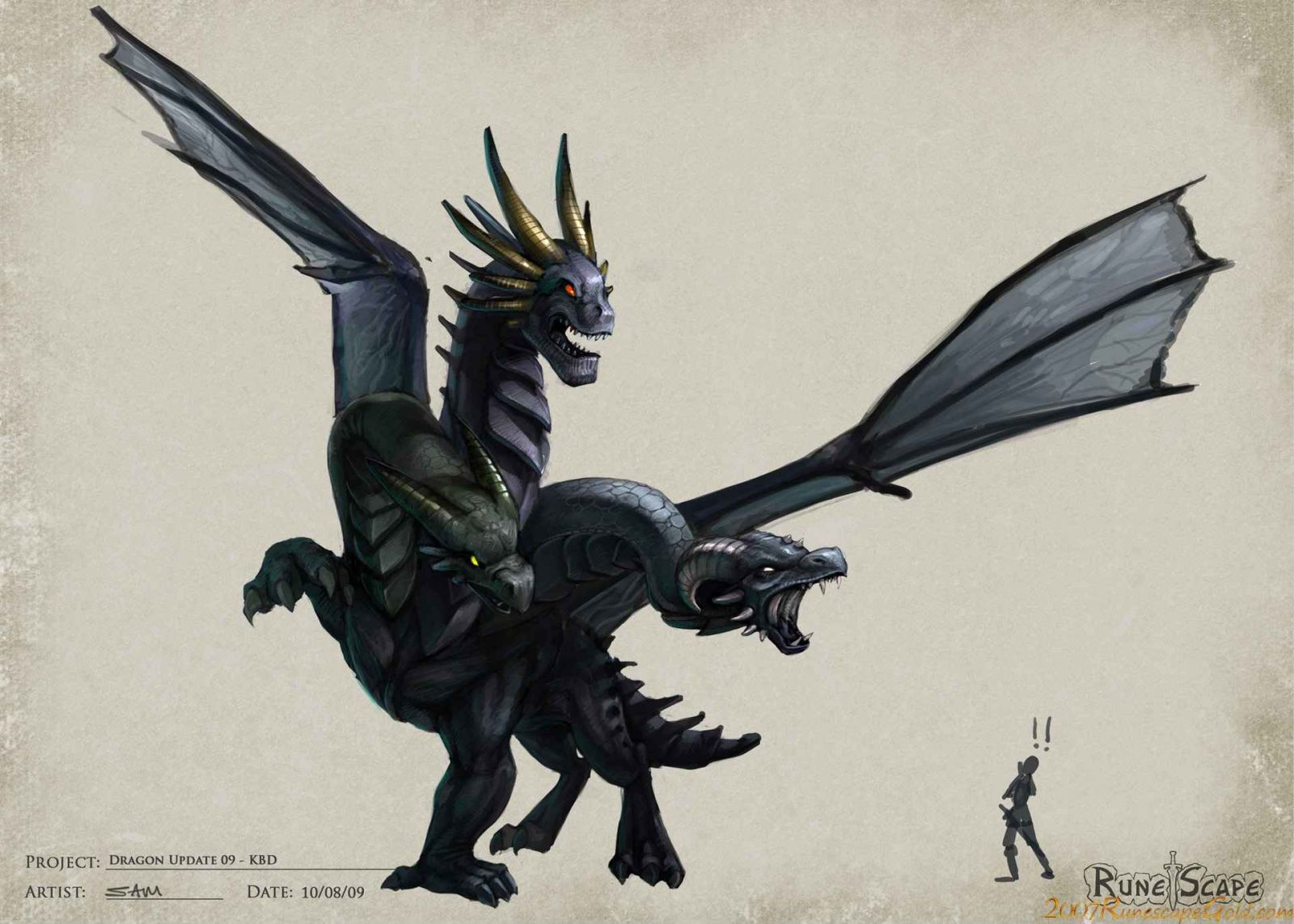 King Black Dragon
