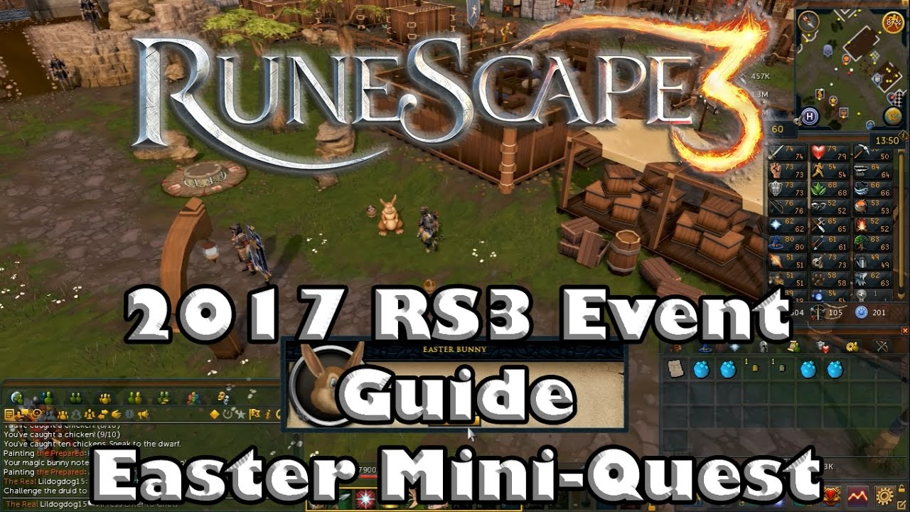 Runescape 2017 Easter Mini Quest