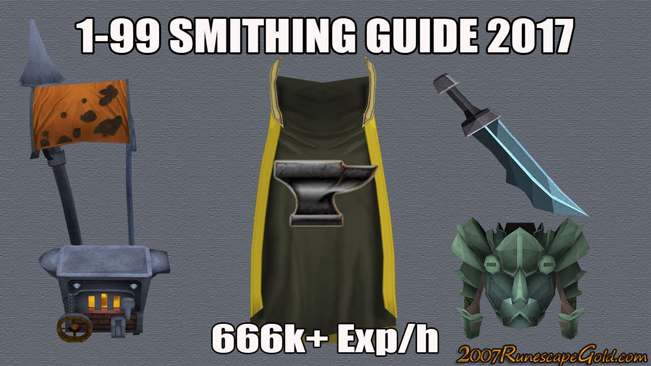 How You Can Get 99 Smithing In Runescape Easier