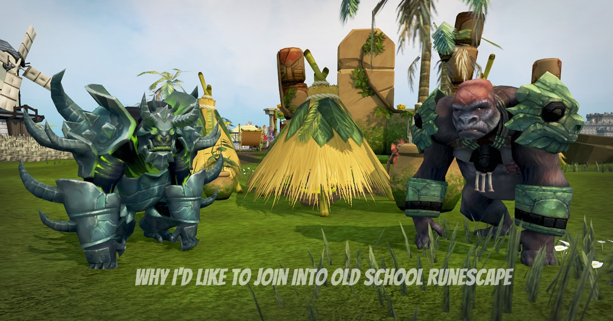 join into Old School Runescape