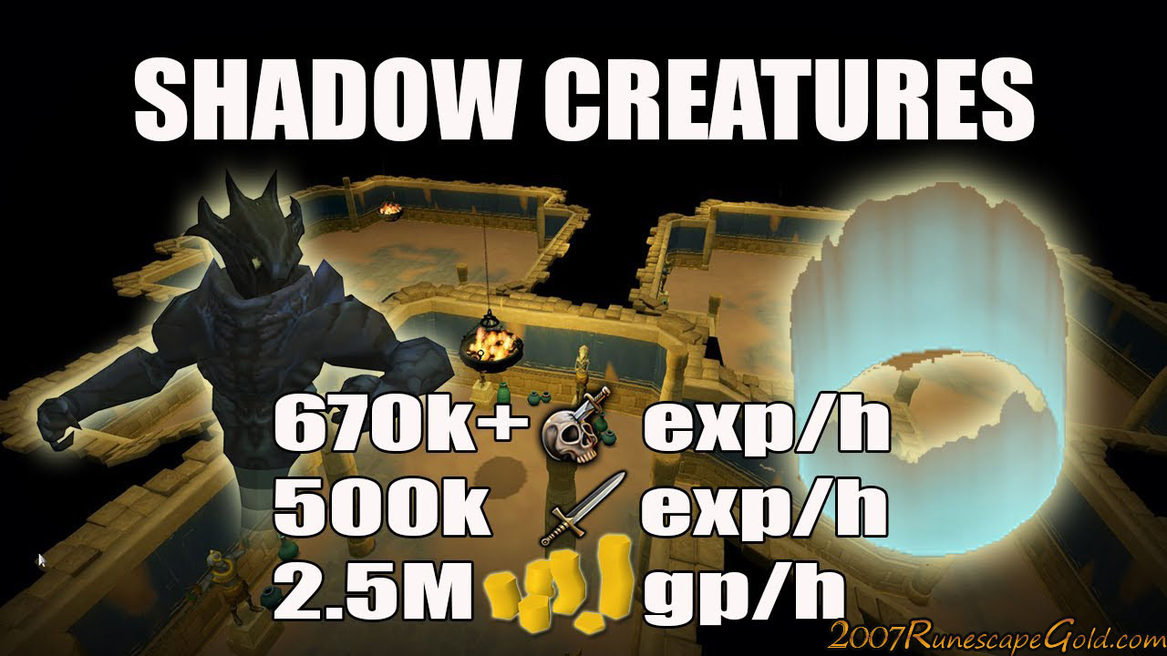Runescape Shadow Creatures Slayer Guide 2017